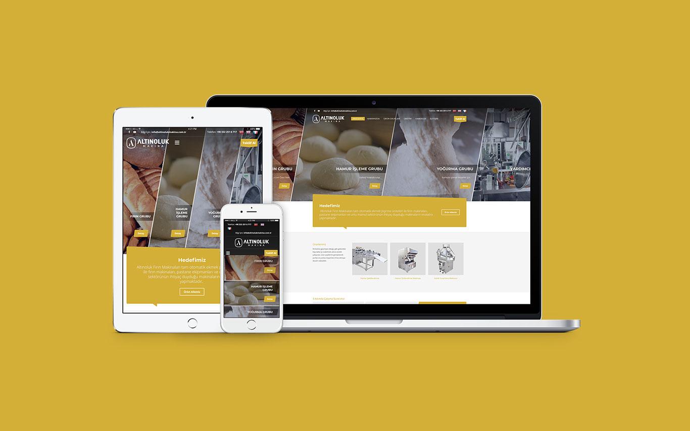 Altınoluk Web Tasarım Çalışması