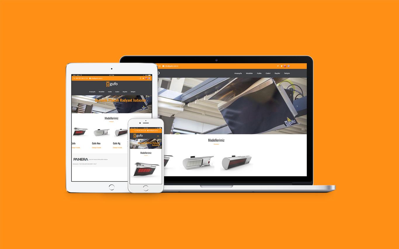 Gufo Web Tasarım Çalışması
