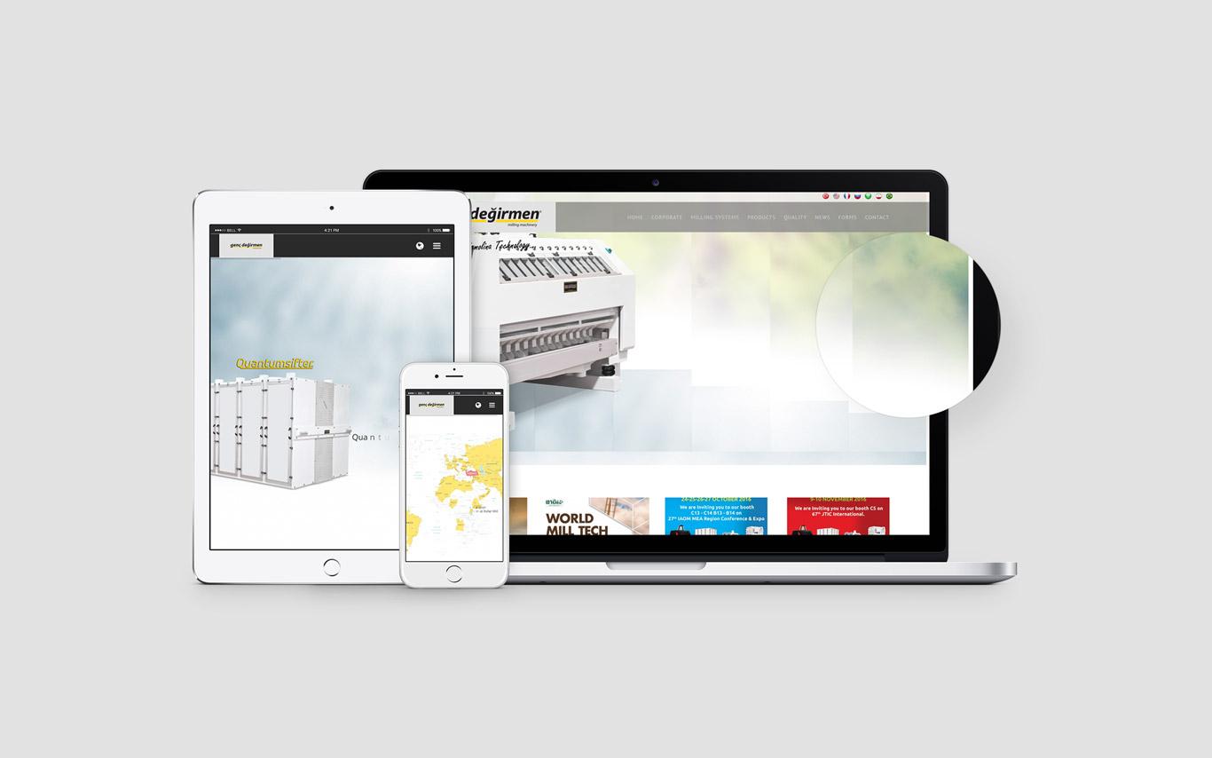 Genç Değirmen Web Tasarım Çalışması