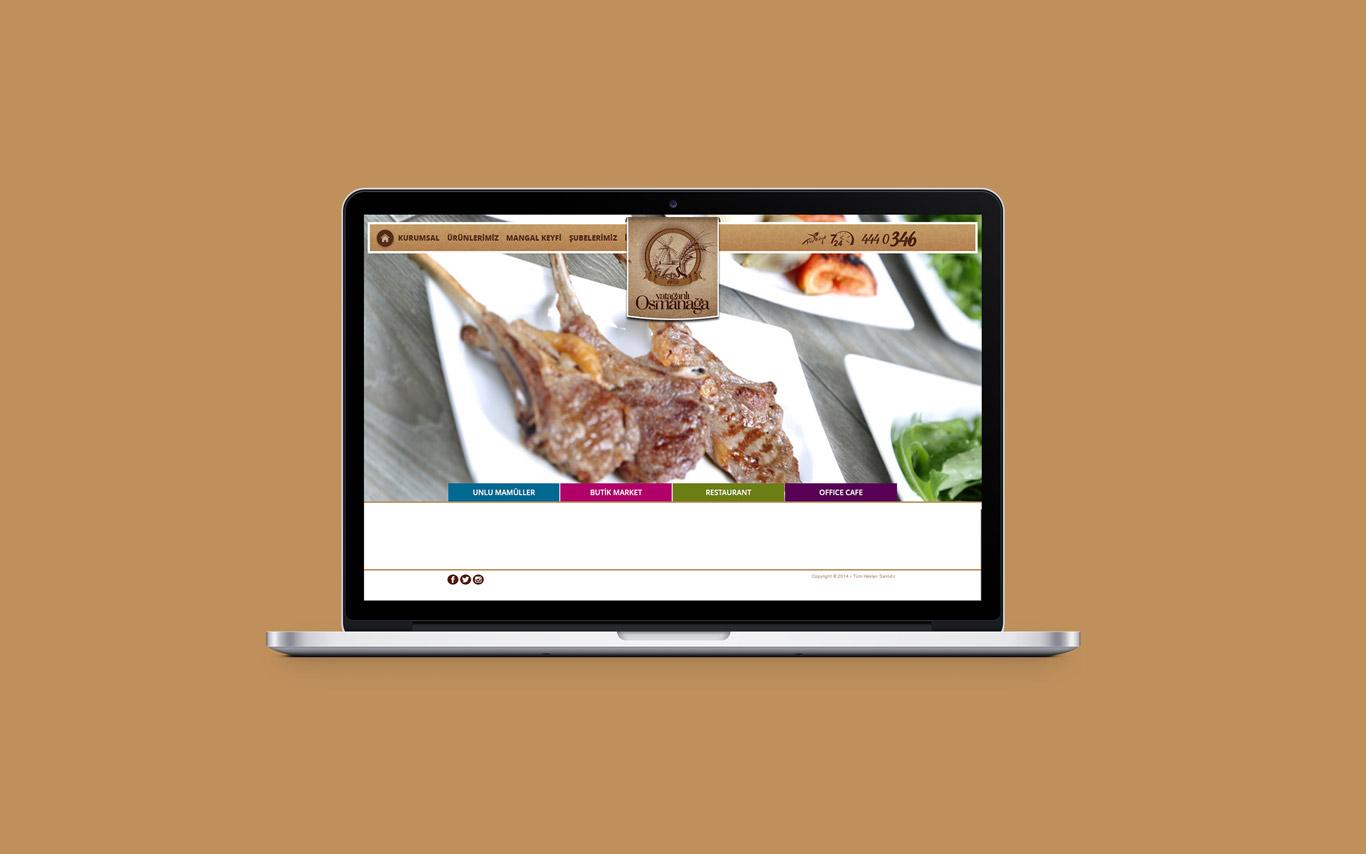 Yatağanlı Osmanağa Web Tasarım Çalışması